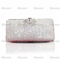 2014 new full diamond luxury upscale dinner clutch evening bag cosmetic bag Clutch Wedding Bridal Bags