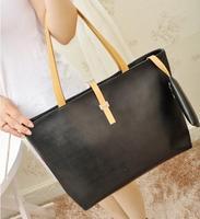 2014 new fashion leather hasp hand bag/ shoulder bag for women