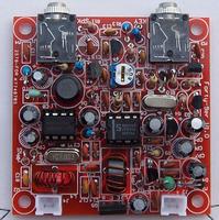 Forty-9er 3W CW transceiver kit newspaper reported electromechanical machine shortwave radio 7.023MHz