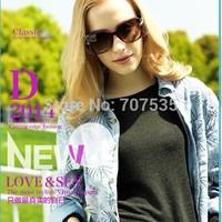 Free-shipping high-quality and classic fashion polarized women sunglasses from Italian designer anti-UV400