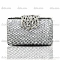 2014 upscale boutique diamond evening clutch banquet bag Lady women chain Mini Small Fine Retro handbag evening bag