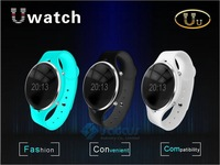 Uu Bluetooth Smart Watch OLED Screen Handsfree U Smartwatch Sync Call SMS Anti lost Pedometer For iPhone Samsung Huawei Android