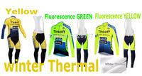 Bike Cycling Jersey (bib) pant fluorescence winter Warm Fleece Thermal jacket  bicicleta Ropa ciclismo bicycle maillot clothing