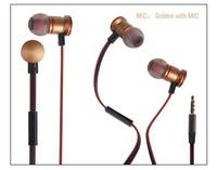 ULDUM hot cheap metal in-ear earphone with mic for mp3