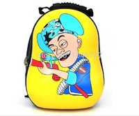 2014 3D  Students backpack bag Candy backpack kid's Travelling bag Baby ourdoor bag free of shipping