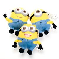 Minion stuffed toys 25 cm Despicable Me Stuffed Plush Doll minion toys Jorge 3D Eyes minions pelucia bonecos minions