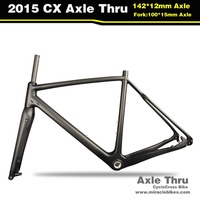 Miracle Bikes T700 Di2 Bicycle CX Cyclo Cross Frame MC-286, Carbon Cyclocross Frame 2015 BSA & BB30 UD Matte 50/52cm