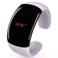 Bluetooth Bracelet anti-lost smart bluetooth watch LED display with caller ID display answer/hang up call + music player