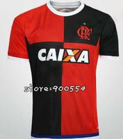 Brazil Flemish camisa A+++ Football Soccer Clube de Regatas do 2014 Flamengo Jersey 14 15 Black 3RD Thai Futbol Uniforms Custom