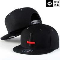 Hip-hop cap baseball cap / tide men and women cross skateboard flat brimmed hat / Korean version of the hat