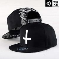 2014 Hip-hop cap baseball cap tide men and women cross skateboard flat brimmed hat Korean version of the hat