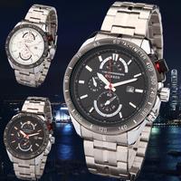 CURREN Men Luxury Brand Casual Quartz Watch Sports Watches Clock Military Wristwatches Stainless Steel Band Men Watch Relogios