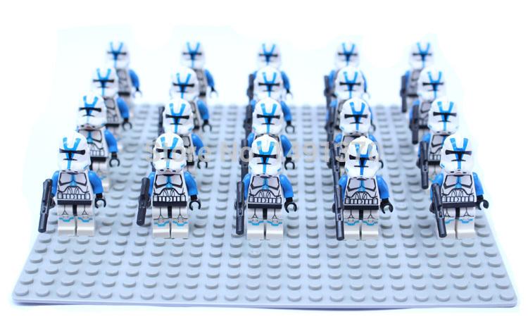 Мстители minifigures Звездные войны клонов десант