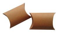 "Free Shipping 100pcs Small Wedding Gift Box  Baby Shower Party Favor Boxes  Kraft Pillow Box 8.5x6.5cm(3.3""x2.6"")"