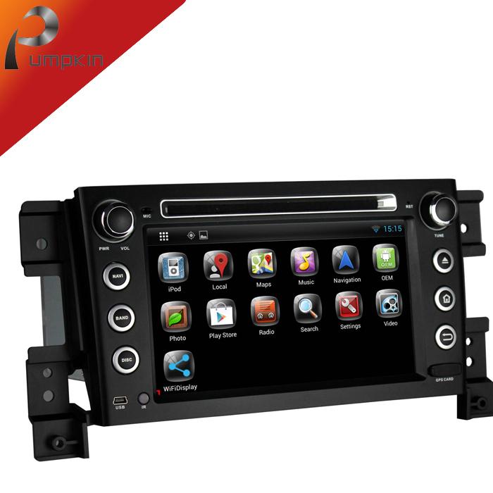 KD 7 2 din Android 4.2 Car DVD player GPS Navigation For Suzuki Grand Vitara 2005-2011+3G+Audio+Radio DDR3 1.6GHZ DVD Automotivo(China (Mainland))