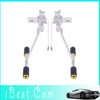 Free shipping DJI Phantom shrink stand electric retractable landing gear skid rc quadcopter with camera aerial helicopter part