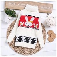 2014 male girls clothing basic yarn shirt children child sweater elastic thermal clothing