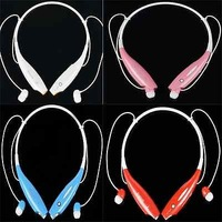 HV-800 Wireless Bluetooth Stereo Music Headset Neckband for iPhone Nokia HTC Samsung LG  cellphones headphones headphone