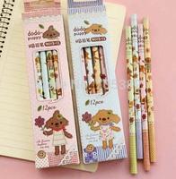 Cute bear  wooden pencil,  School pencils, Good quality,Wholesale Price (aa-641-359)