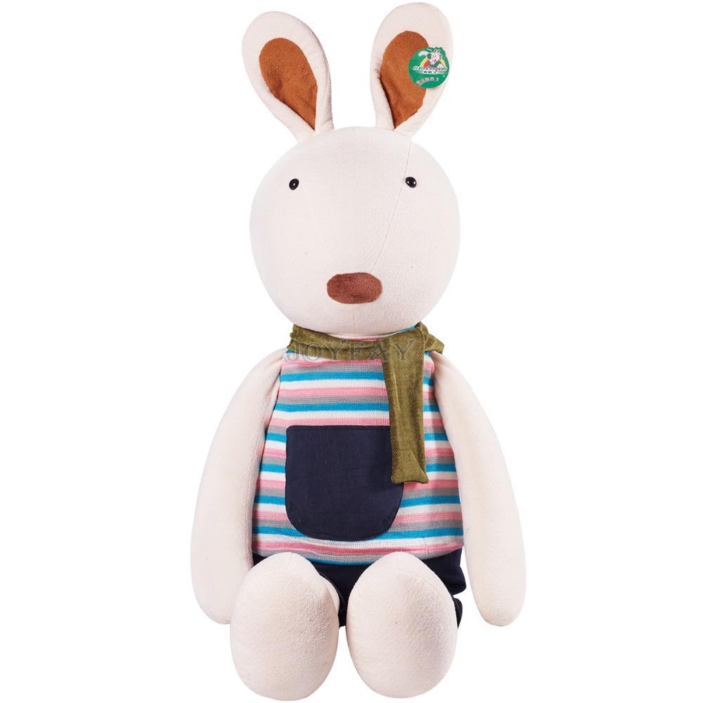 Giant Cute 53'' 135 cm Rabbit Bunny Stuffed Plush Animal Soft Toy Best Gift For Girlfriend Children(China (Mainland))