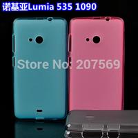 Lumia 535 Cases,New Matte Pudding Soft TPU Gel Skin Cover Case For Microsoft Lumia 535