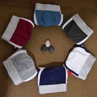 Newest design mens cotton boxers 6 colors wide waistband men underwear cotton male underpants men's M-XXL size boxer shorts