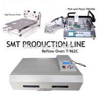 SMT Pick and Place machine TM220A,High Precision Printer PM3040,Reflow Oven T-962C,Manufacturer,Neoden tech,SMT Production Line