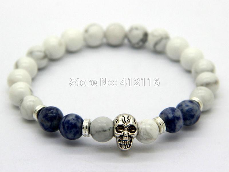 Skull Bracelet Singapore Skull Yoga Bracelets,8mm