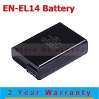 Hot Sale Battery for Nikon ENEL14 EN-EL14 D3100 D5100 D3200 P7000 P7100 Digital camera MH-24 charger for battery EN-EL14 MH24