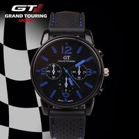 GT fashion casual watches men luxury brand analog military Silicone sports quartz watch men wristwatches relogio masculino