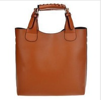 Factory direct 2015 stars of Europe big retro female bun bag shoulder bag big bag boom hangdbag freeshipping