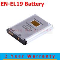 Hot Sale 1200mAh EN-EL19 Battery for Nikon Coolpix S2500 S3100 S4100 Free Shipping