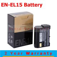 Hot Sale EN-EL15 digital batteries EN EL15 ENEL15 Camera Battery pack For Nikon D600 D800 D800E D7000 D7100 Free Shipping