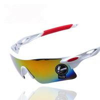 Outdoor Riding Glasses Anti Wind UV Men Women fashion sunglasses colorful sports Parkour fish glasses lenses
