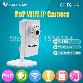 Cheap Wireless PnP MJPEG IR-CUT 0.3 MP Baby Monitor ip camera with sim card(China (Mainland))