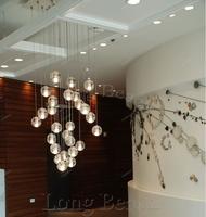 14 meteor shower light suspended spherical crystal chandelier crystal chandelier lighting Globe
