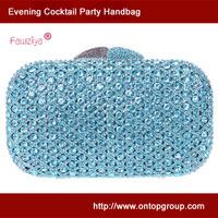 Fawziya diamond studded plaid high class evening party clutch