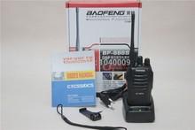2PCS/LOT Brand New Original Portable Two Way Radio Bao Feng BF-666S Walkie Talkie UHF 400-470 MHz 5W 16CH 6KM Distance