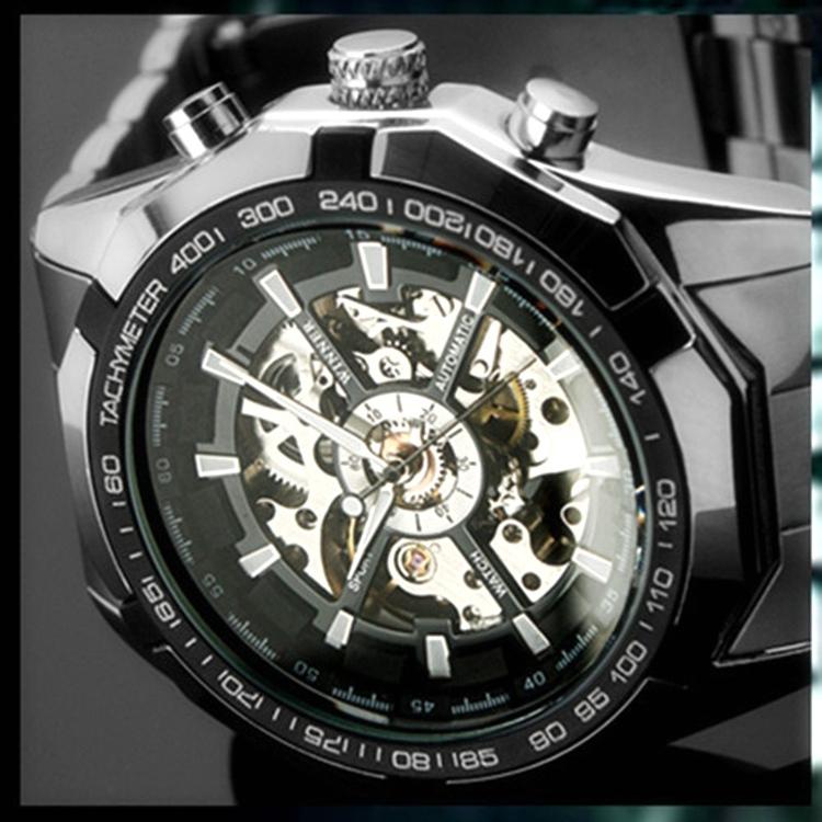 Brand FORSINING NEW 2015 Clock Mens Automatic Mechanical Men Wrist Watch Military Style Men Wristwatches(China (Mainland))