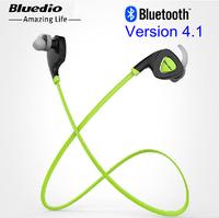 Bluedio Q5 Bluetooth Earphones with Mic Handsfree Headset HIFI Sport Stereo In Ear Headphone Multi-point Sweat Proof New 2014