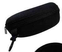Hot Sale Zipper Hard Black Sunglasses Box High Quality Glasses Pouch Retail Bag Eyewear Box