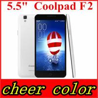 "Original Coolpad F2 Mobile Phone Qualcomm MSM8939 64 bit Octa Core 4G FDD LTE WCDMA Dual SIM 5.5"" IPS 2G RAM 16GB ROM 13MP GPS"