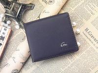 Man purse wallet leather imitation short men's Wallet Purse