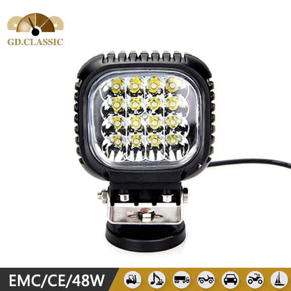 Led auto light front light high quality truck accessories 48w(China (Mainland))