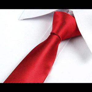 Fashion Men s Upscale Wedding Necktie 6CM Adult Male Solid Color Business Tie Casual Black Jacquard