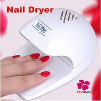 Mini Nail Dryer White Color UV Lamp Gel Nail Art Polish Portable Hand Nail Dryer Set For Finger Toe Dryer  Nail Dryer Tool