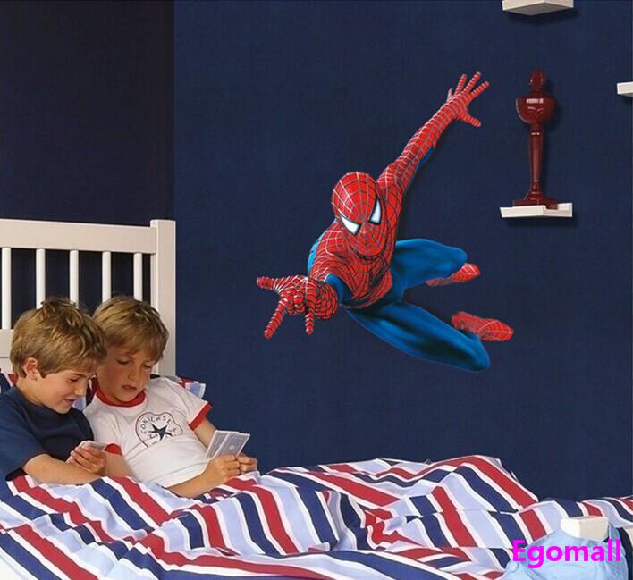 Loisirs créatifs Superman Motif enfants Stickers muraux décoratifs Chambre