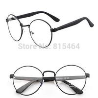 Unisex designer brand round eyeglasses men computer anti-fatigue big nerd glasses women gafas fashion eyewear optical frame