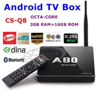CS-Q8 Allwinner A8 Qcta Core Android 4.4 TV Box Mini PC 2GB DDR3+16GB Support 4K/RJ45/SATA/DLNA Miracast Smart Media Player