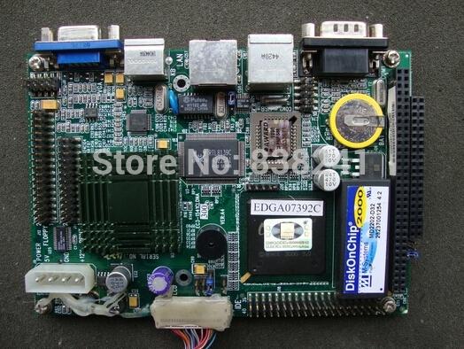 100% OK Original Brand 3.5 Motherboard For EVOC EC3-1541CLDNA (VER:A4) Mainboard PC/104 Slot SBC Fanless Industrial motherboard(China (Mainland))